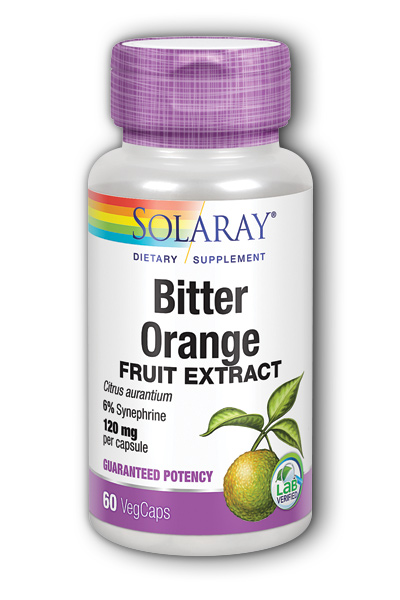 Bitter Orange Extract, 60ct 120mg