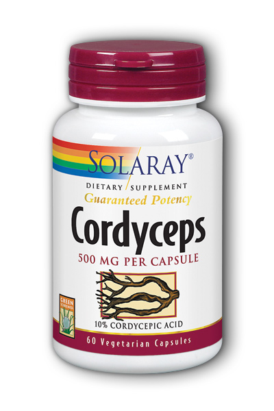 Solaray: Cordyceps Extract 60ct 500mg