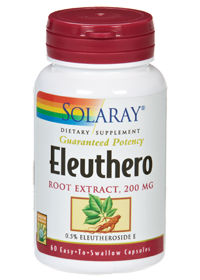 Solaray: Eleuthero Extract 60ct 200mg