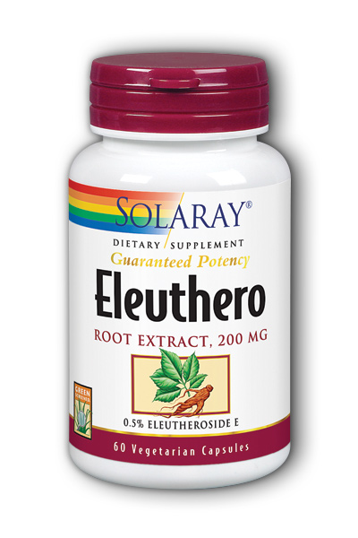 Eleuthero Extract, 60ct 200mg