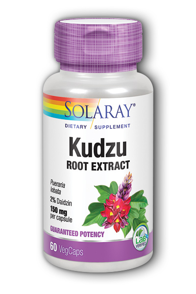 Solaray: Kudzu Root Extract 60ct 150mg