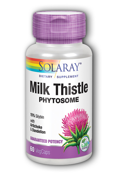 Solaray: Milk Thistle Phytosome 60ct 200mg