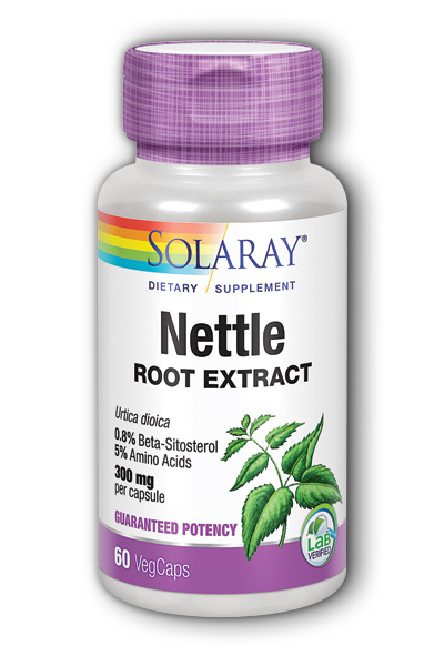 Solaray: Nettle Root Extract 60ct 300mg