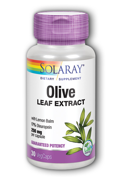 Olive Leaf Extract, 30ct 250mg