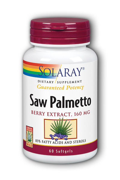 Saw Palmetto Berry Extract, 60ct 160mg