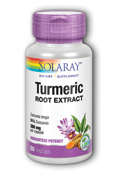 Turmeric Root Extract, 60ct 300mg