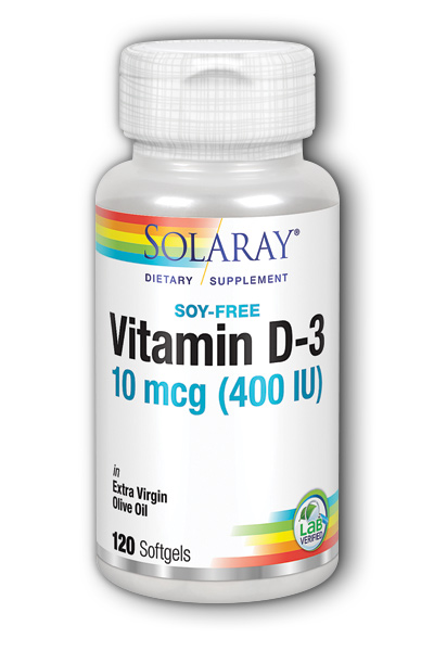 Vitamin D-3, 120ct 400IU