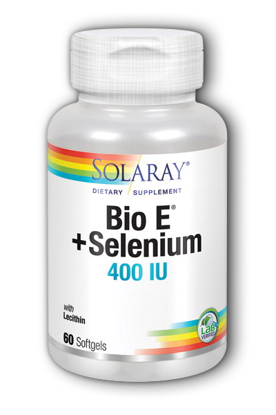 Solaray: Bio E with Selenium 60ct 400IU