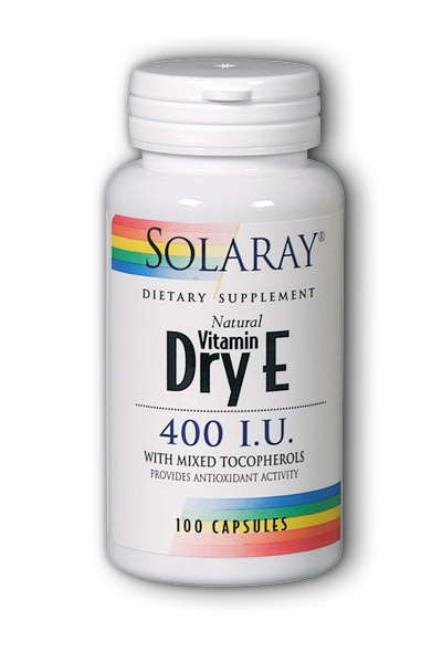 Dry Vitamin E-400, 100ct 400IU