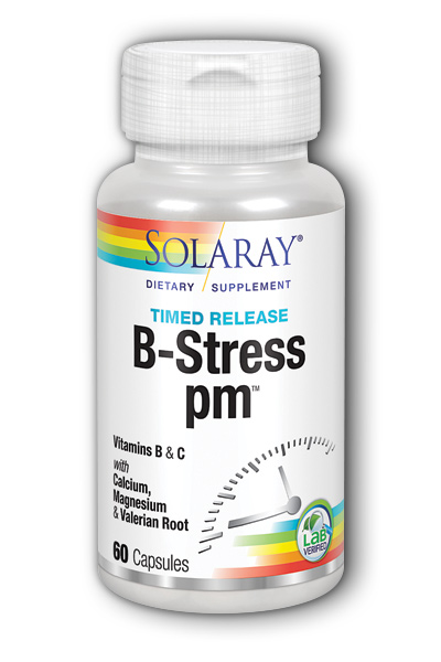 Solaray: B Stress PM 60ct