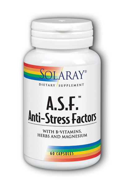 A.S.F. Anti-Stress Factors, 60ct