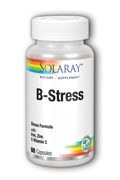 Solaray: B-Stress plus Iron and Zinc 60ct