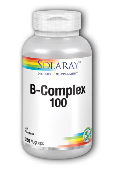 Solaray: Vitamin B Complex 100 250ct