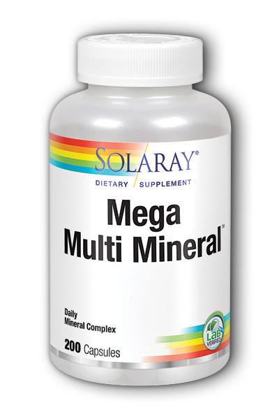 Mega Multi Mineral, 200ct