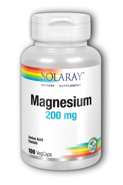 Magnesium AAC, 100ct 200mg