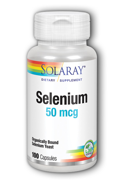 Solaray: Selenium-50 100ct 50mcg