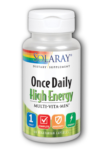 Solaray: Once Daily High Energy Multi-Vita-Min 60ct