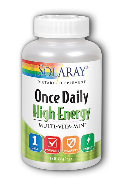 Solaray: Once Daily High Energy 120ct