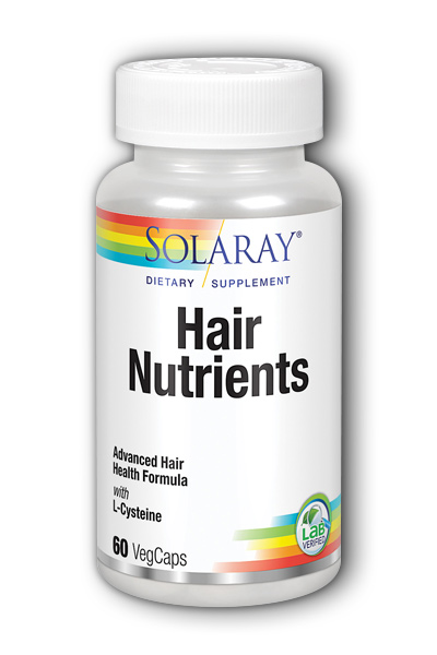 Solaray: Hair Nutrients 60ct