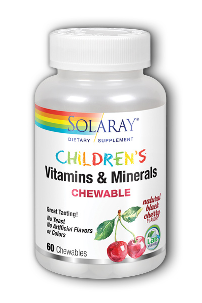 Solaray: Childrens Chewable Vitamins and Minerals 60 ct