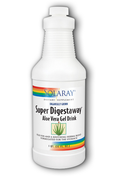 Solaray: Super Digestaway Aloe Drink 32oz