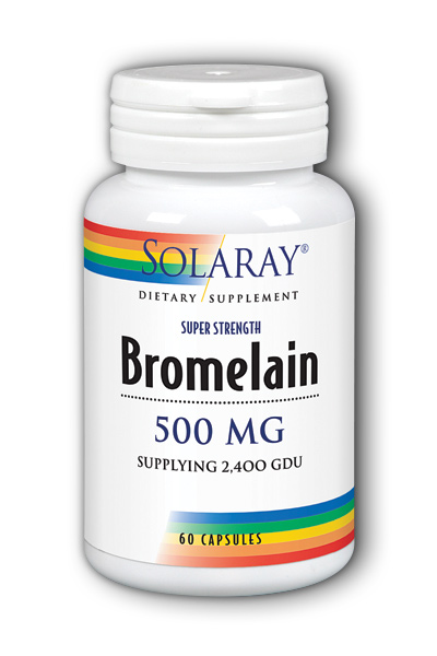 Solaray: Bromelain 60ct 500mg