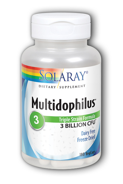 Multidophilus Non-Dairy 180ct 3bil from Solaray