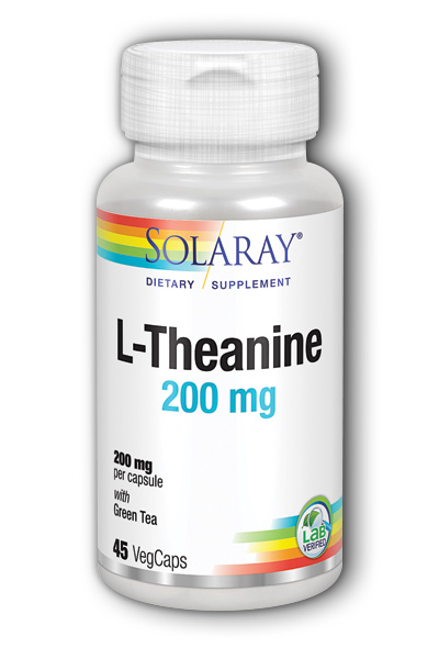 Solaray: L Theanine 45 ct 200mg