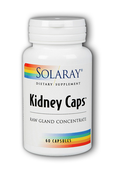 Solaray: Kidney Caps 60ct 260mg