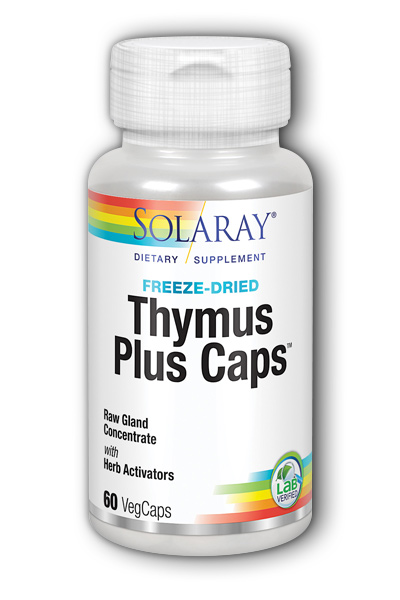 Solaray: Thymus Plus Caps 60ct