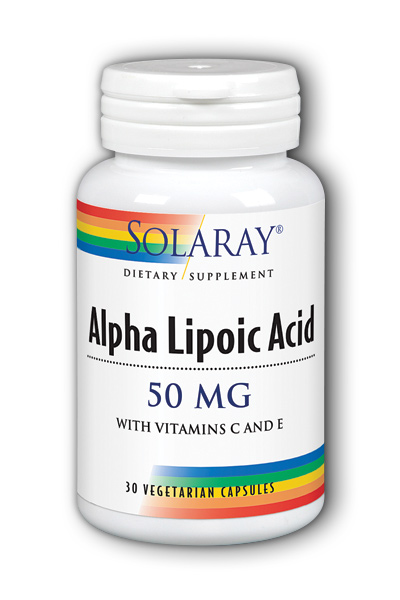 Alpha Lipoic Acid, 30ct 50mg