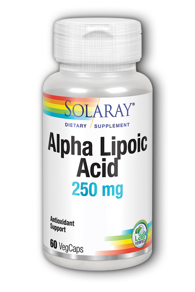 Alpha Lipoic Acid 250 mg, 60ct 250mg