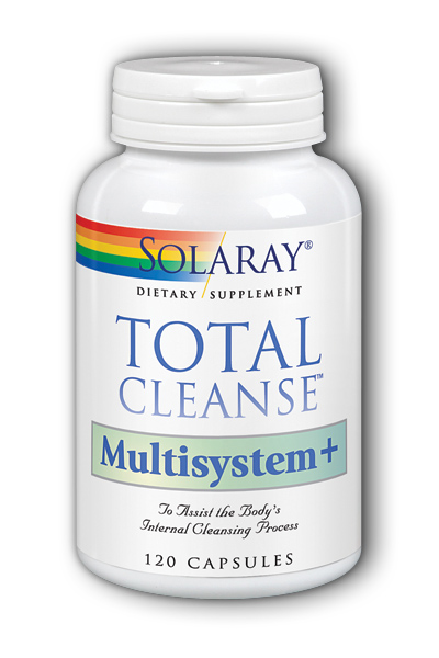 Solaray: TotalCleanse Multisystem 120ct