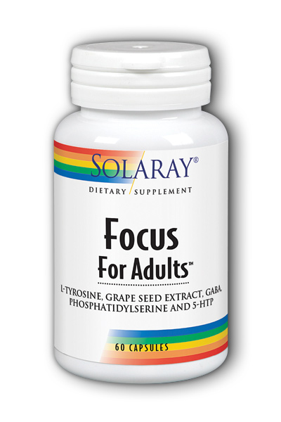 Solaray: Focus for Adults 60ct