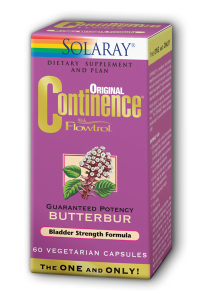 Solaray: Continence with Flowtrol 60 Vegetarian Capsules