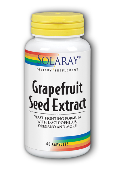 Solaray: Grapefruit Seed Extract Yeast Formula 60ct