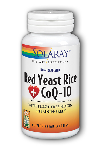 Red Yeast Rice Plus CoQ10, 60ct