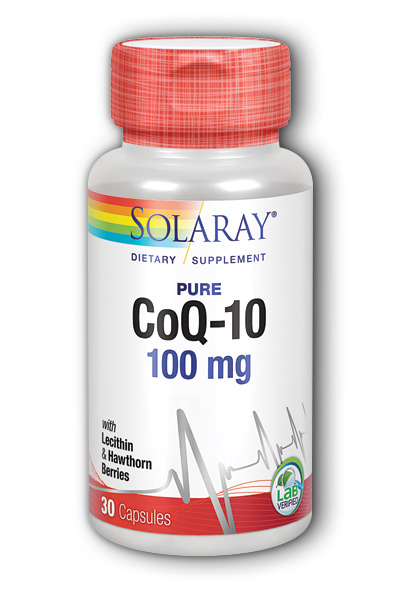 Solaray: CoQ10-100 30ct 100mg