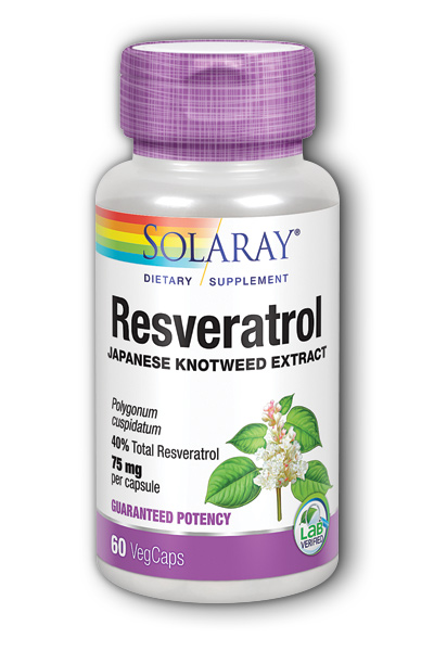 Resveratrol, 60ct 75mg