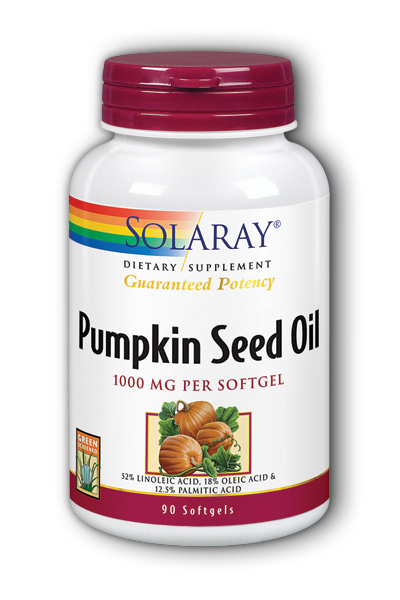 Solaray: Pumpkin Seed Oil 90ct