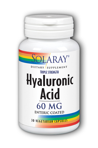 Solaray: Triple Strength Hyaluronic Acid  60mg 30ct