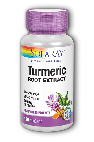 Turmeric Root Extract, 120 Cap 300mg