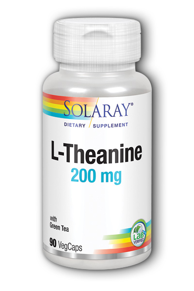 Solaray: L-Theanine 90 ct