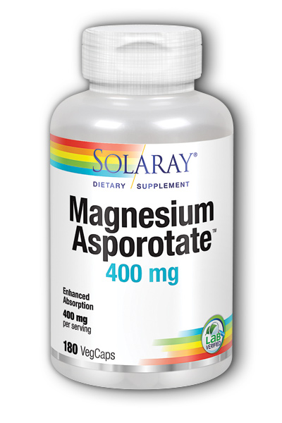 Solaray: Magnesium Asporotate 180 ct