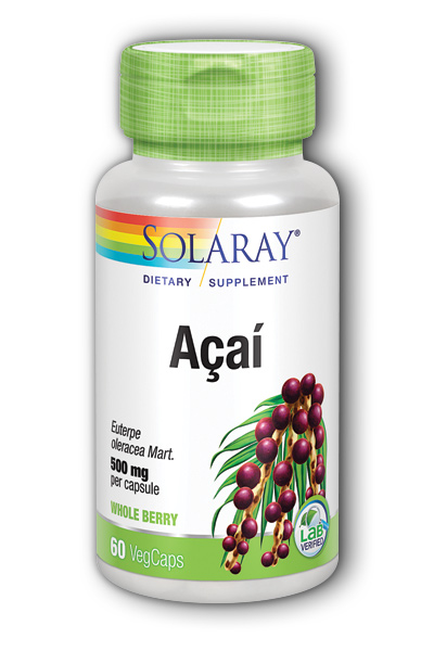 Solaray: Acai Fruit 60ct