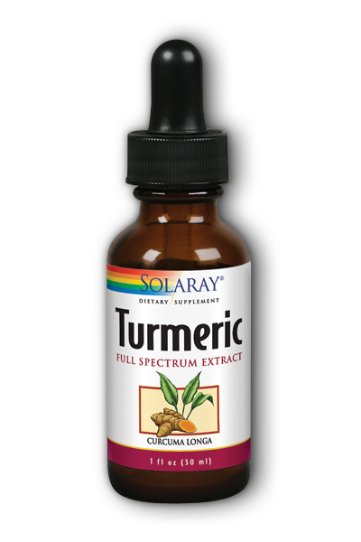 Solaray: Turmeric Liquid Extract 300mg 1 fl oz