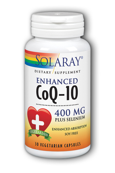 Solaray: CoQ10 Enhanced (400 mg) 30 ct