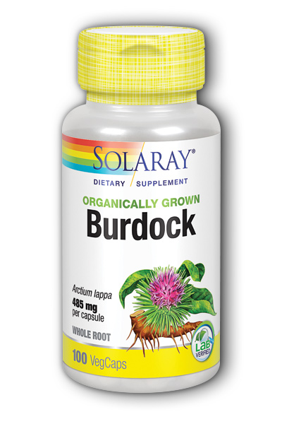 Organic Burdock Root Dietary Supplements