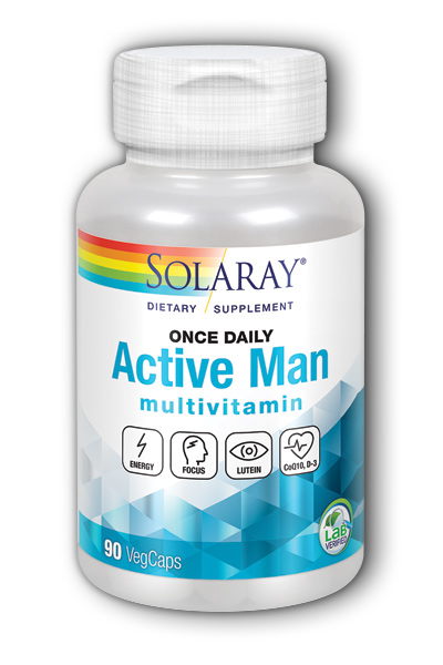 Solaray: Once Daily Active Man 90 ct