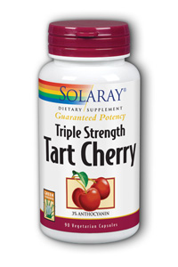 Solaray: Tart cherry triple strength 90 Vcaps